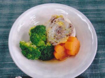 白菜の牛肉巻き