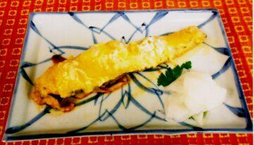 鮭の味噌チーズ焼き